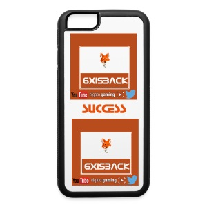 IPHONE 6/6S RUBBER 6XISBACK SUCCESS LOGO - iPhone 6/6s Rubber Case
