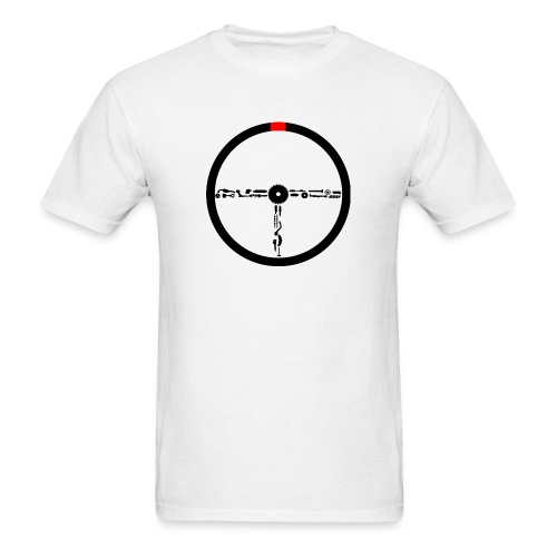 Sterring wheel - Men's T-Shirt