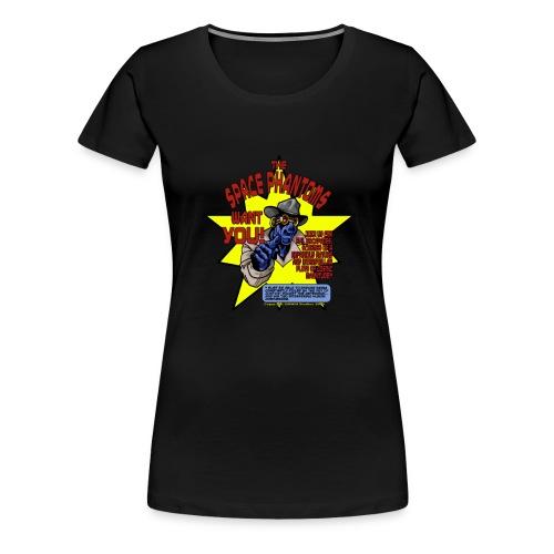 Space Phantom - Women's Premium T-Shirt