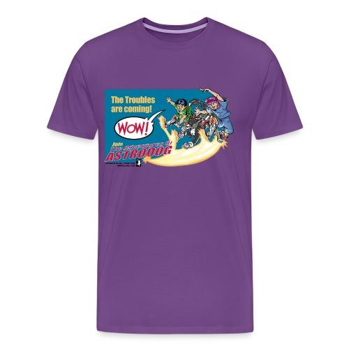 Astrodog Trouble - Men's Premium T-Shirt