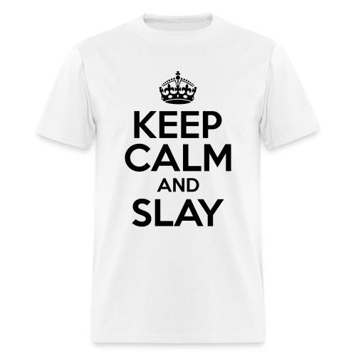 Keep Calm and Slay - Men's - Men's T-Shirt