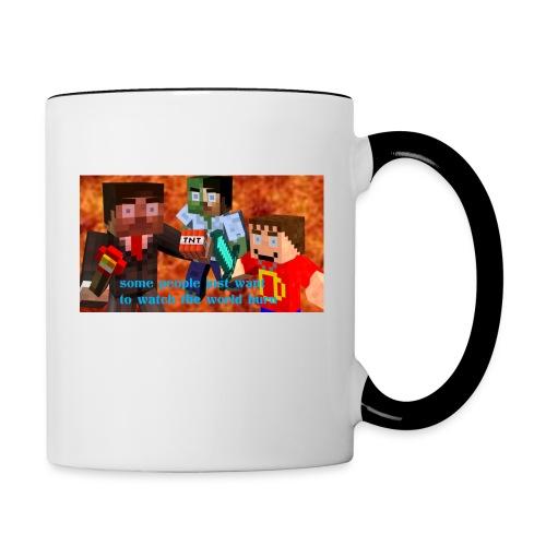 Burn Mug - Contrast Coffee Mug