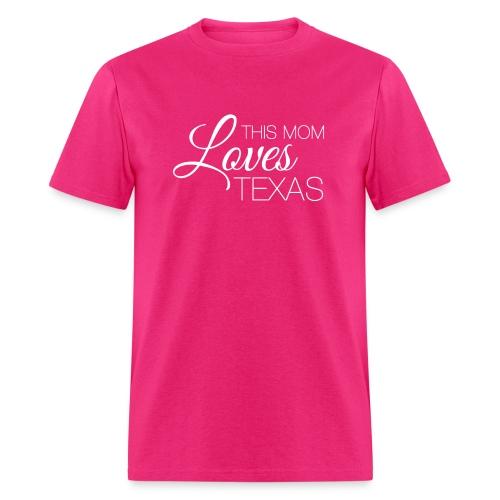 This Mom Loves Texas T-shirt - Men's T-Shirt