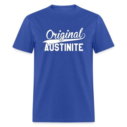 Original Austinite T-Shirt (white font) - Men's T-Shirt