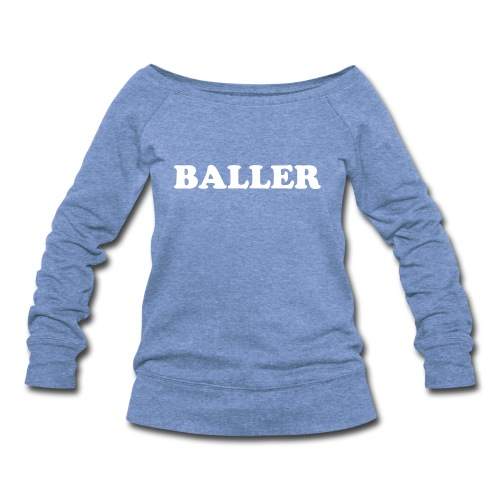 SLB OFF THE SHOULDER SWEATSHIRT - Women's Wideneck Sweatshirt