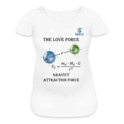 Newton Gravity MuMeG - Maternity T-Shirt - Women's Maternity T-Shirt