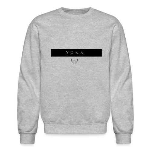 Yona Sweater (Black Bar) - Crewneck Sweatshirt