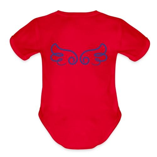 Handpicked by my grandpas - Organic Short Sleeve Baby Bodysuit