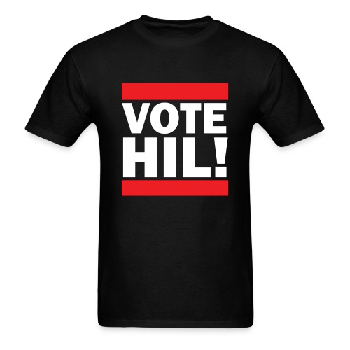 Vote Hil! Hillary Clinton Value T-Shirt - Men's T-Shirt
