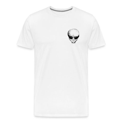 URBAN ALIEN HEAD SHIRT - Men's Premium T-Shirt