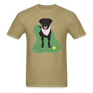 Men's Tee | Black Lab Ball Love - Men's T-Shirt