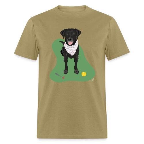 Men's Tee | Black Lab Ball Love - Men's T-Shirt