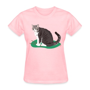 Women's Tee | Cat Drummer - Women's T-Shirt