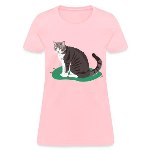 Women's Tee | Cat Drummer - Women's T-Shirt