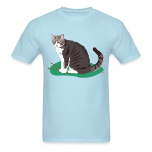 Men's Tee | Cat Drummer - Men's T-Shirt