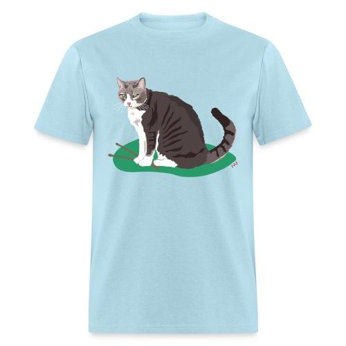 Men's Tee | Cat Drummer - Men's T-Shirt