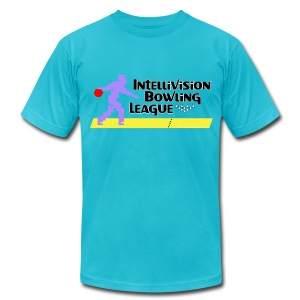 Intellivision Bowling League lightweight shirt - Men's T-Shirt by American Apparel