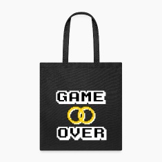 GAME OVER Bags & backpacks