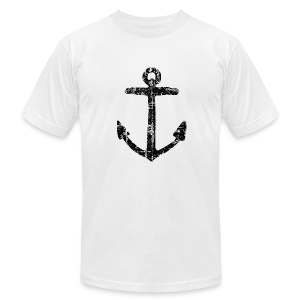 Anchor Vintage T-Shirt (Men) - Men's T-Shirt by American Apparel