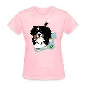 Women's Tee | Bernese Mountain Puppy - Women's T-Shirt