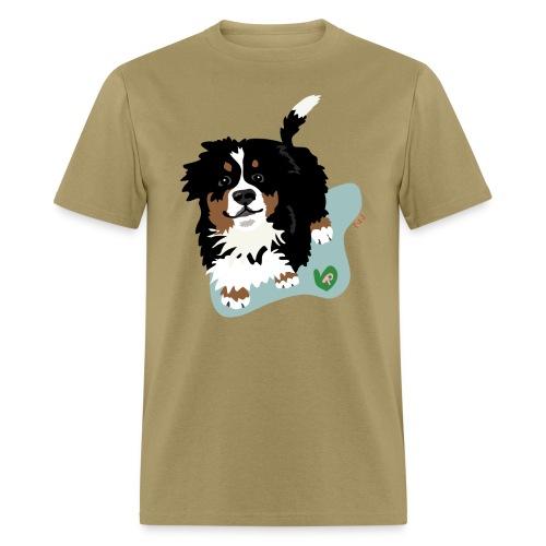 Men's Tee | Bernese Mountain Puppy - Men's T-Shirt