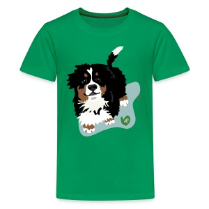 Kids' Tee | Bernese Mountain Puppy - Kids' Premium T-Shirt