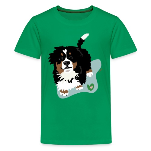 Kids' Tee | Bernese Mountain Puppy - Kids' Premium T-Shirt