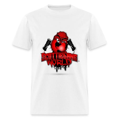 White Scottie Gang World Tee - Men's T-Shirt