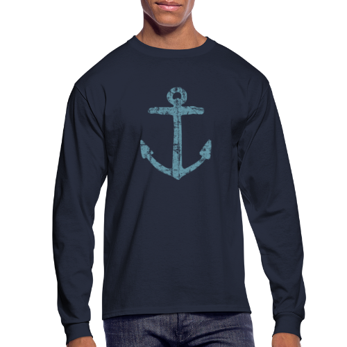 Anchor Vintage Longsleeve - Men's Long Sleeve T-Shirt