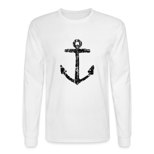 Anchor Vintage Longsleeve - Men's Long Sleeve T-Shirt