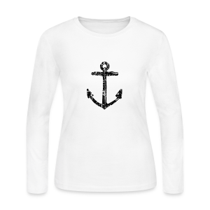 Anchor Vintage Longsleeve - Women's Long Sleeve Jersey T-Shirt