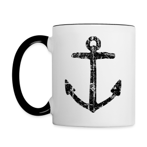 Anchor Vintage Coffee Mug - Contrast Coffee Mug