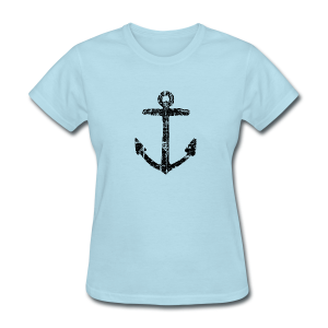 Anchor Vintage T-Shirt - Women's T-Shirt