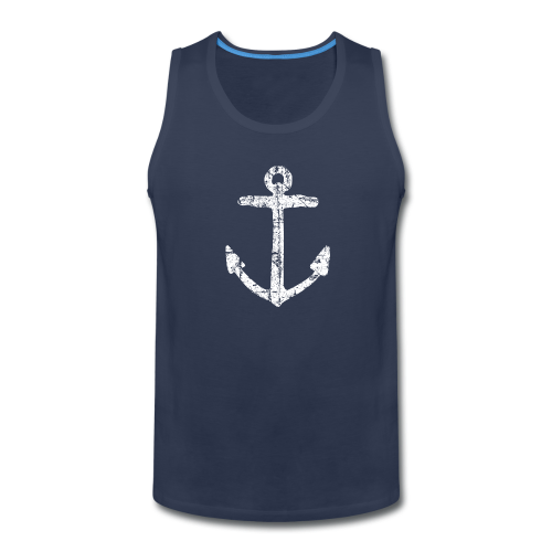 Anchor Vintage White Sailing Sailor Design