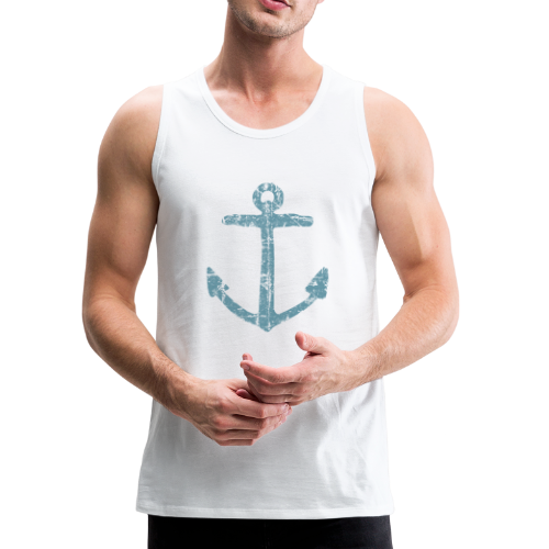 Anchor Vintage Blue Sailing Sailor Design