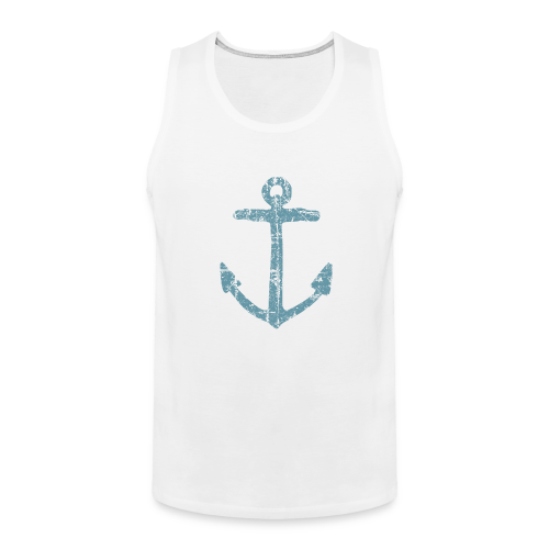 Anchor Vintage Blue Sailing Sailor Design