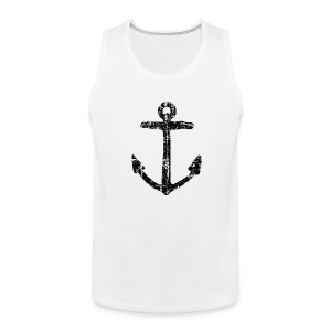 Anchor Vintage Tank Top - Men's Premium Tank