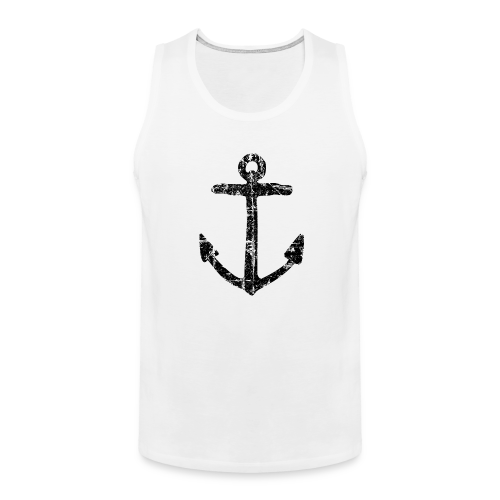 Anchor Vintage Black Sailing Sailor Design