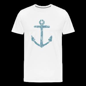 Anchor Vintage T-Shirt - Men's Premium T-Shirt