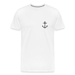 Anchor Vintage T-Shirt - Men's Premium T-Shirt