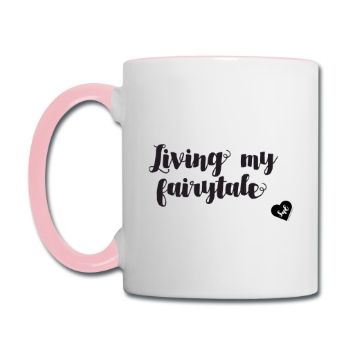 Living My Fairytale Mug - Contrast Coffee Mug