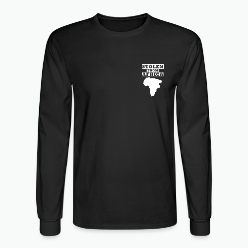 Stolen From Africa Long Sleeve T-Shirt (White Crest) - Men's Long Sleeve T-Shirt