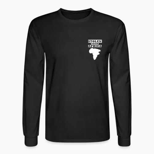 Stolen From Africa Long Sleeve T-Shirt (White Crest) - Men's Long Sleeve T-Shirt