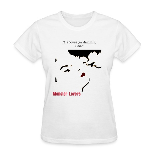 Monster Kiss Tee - Women's T-Shirt