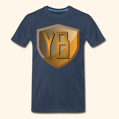 YBshield_Orange - Men's Premium T-Shirt