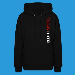 Women's Metalheads unite+keep it metal Hoodie - Women's Hoodie
