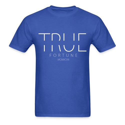 Men's True Fortune Tee - Royal Blue - Men's T-Shirt