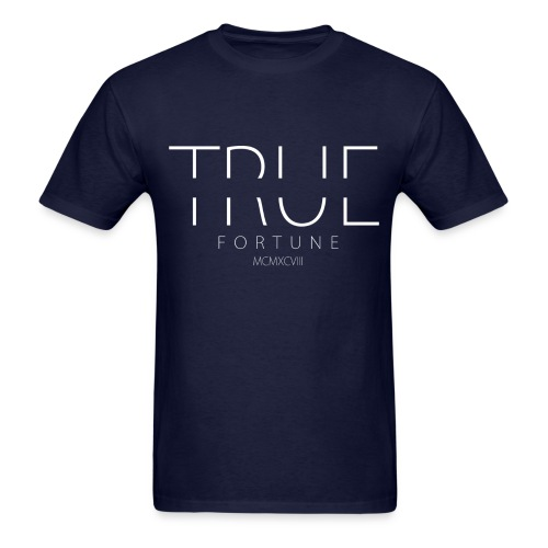 Men's True Fortune Tee - Navy Blue - Men's T-Shirt