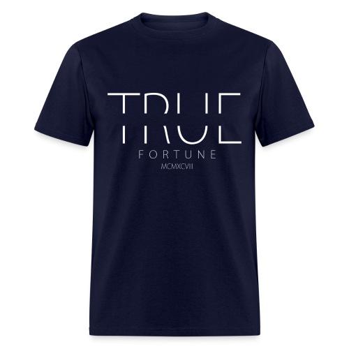 Men's True Fortune Tee - Navy Blue - Men's T-Shirt