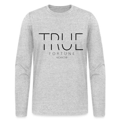 Men's True Fortune Long Sleeve Tee - White - Men's Long Sleeve T-Shirt by Next Level